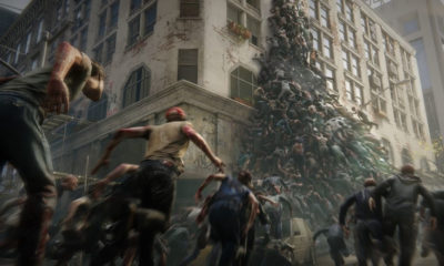 world war z game zombie pyramid 1 400x240 - Gamescom 2018: Latest WORLD WAR Z Game Trailer Promises A Dynamic Gore System