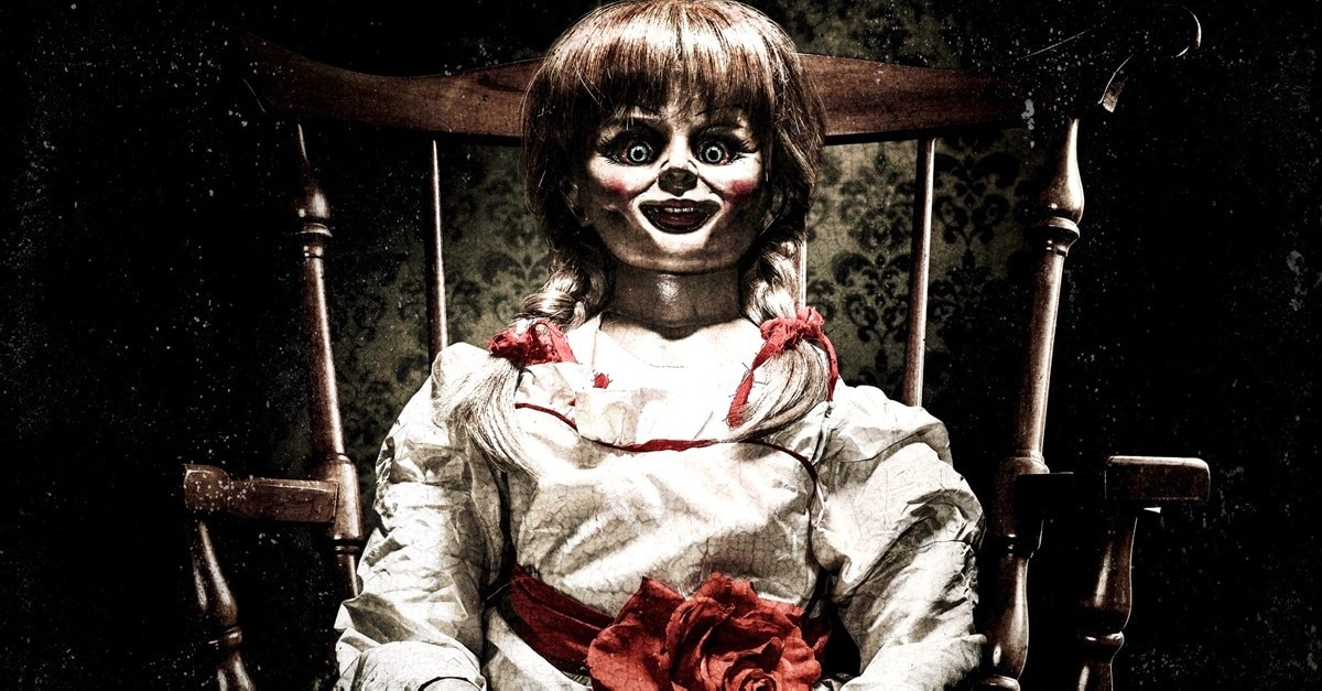 Annabelle Doll - James Wan's Possessed ANNABELLE Doll Has a Cameo in AQUAMAN
