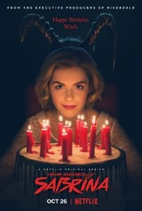 Chillinh Adventures of Sabrina poster 2 203x300 - Trailer: Netflix's CHILLING ADVENTURES OF SABRINA