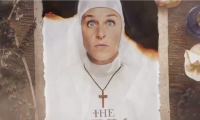 "Ellen The Nun Parody  400x240 - Check Out Ellen DeGeneres's ""Cameo"" in (Parody) Trailer for THE NUN"