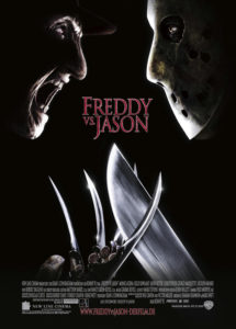 Freddy vs Jason 2003 Poster 215x300 - In Extremely Rare On-Set Interview, Robert Englund Explains Why Kane Hodder Wasn't Cast in FREDDY VS. JASON