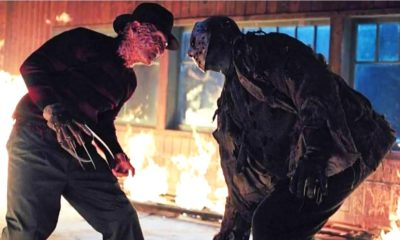 Freddy vs Jason Climax 400x240 - In Extremely Rare On-Set Interview, Robert Englund Explains Why Kane Hodder Wasn't Cast in FREDDY VS. JASON