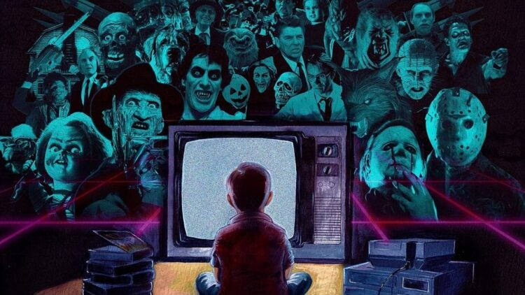 """In Seach of Darkness Poster Clip 750x422 - Take """"A Journey Into Iconic 80's Horror"""" in Upcoming Doc IN SEARCH OF DARKNESS"""