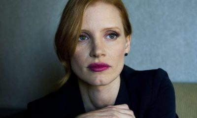 Jessica Chastain 400x240 - Chastain Wraps IT: CHAPTER TWO!