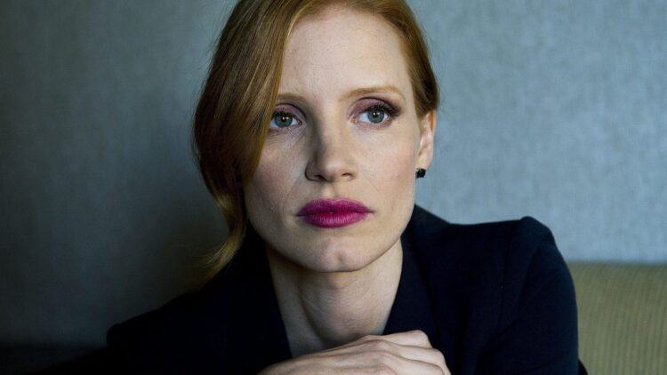 Jessica Chastain 750x422 - Chastain Wraps IT: CHAPTER TWO!