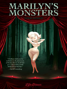 MarilynsMonsters 225x300 - Exclusive MARILYN'S MONSTERS Trailer Animates The Story of One of Hollywood's Queens