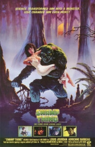 "Swamp Thing 1982 Poster 195x300 - Gary Dauberman's SWAMP THING TV Series Will ""Go Graphic with the Violence"""