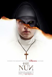 The Nun 2018 Poster 202x300 - Is Valak Real? Video Explores the Roots of THE NUN's Terrifying Supernatural Villain