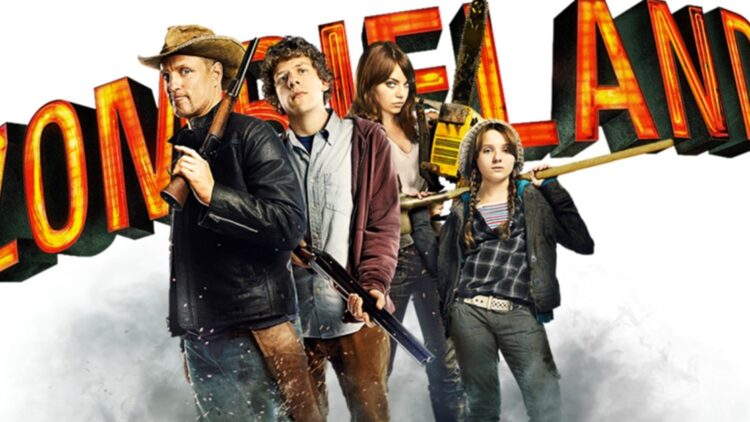 Zombieland Poster Clip 750x422 - Start Date & Plot Details Revealed for ZOMBIELAND 2