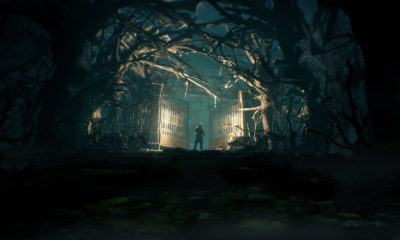 call of cthulu the official video game gates and trees 1 400x240 - Watch The First Hour Of Gameplay From CALL OF CTHULHU: THE OFFICIAL VIDEO GAME