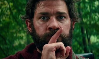 A Quiet Place 400x240 - True Story: John Krasinski Played the Monster in A QUIET PLACE