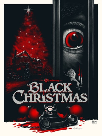"""Anchor Bay black christmas pullin final 336x445 - Exclusive Interview with Renowned Horror Artist """"Ghoulish"""" Gary Pullin"""