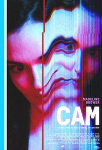 Cam 2018 Poster 203x300 - CAM Writer Describes How Sex Worker Stigma Nearly Derailed Entire Film