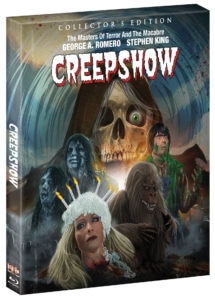 Creepshow.BR .PS .Slipcase.300dpi 215x300 - CREEPSHOW Blu-ray Review - Romero's Anthology Is Still King