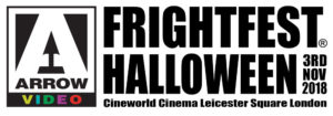 "FrightFest Halloween 2018 logo1 300x105 - Arrow Video FrightFest Announce Line Up for UK ""Sort-of-Halloween"" 2018 Event"