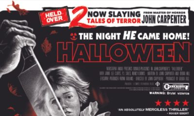 "H40 Poster Clip 400x240 - Exclusive Look at Limited Edition HALLOWEEN: 40 YEARS OF TERROR Poster by ""Ghoulish"" Gary Pullin!"