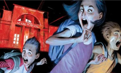Just Beyond Cover Clip 400x240 - Images: BOOM! Debuts Original Graphic Novel JUST BEYOND by GOOSEBUMPS Author R.L. Stine