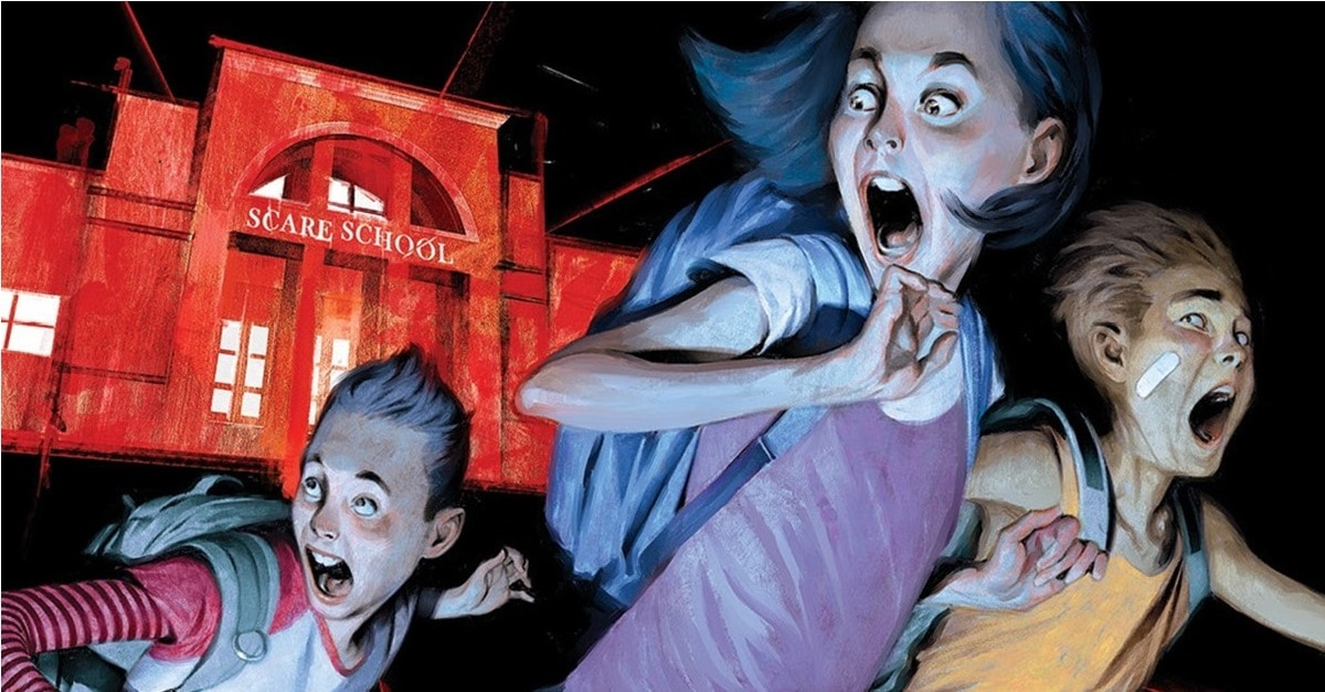 Just Beyond Cover Clip - Images: BOOM! Debuts Original Graphic Novel JUST BEYOND by GOOSEBUMPS Author R.L. Stine