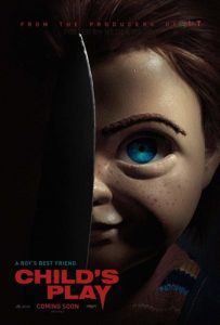MGMs Childs Play Poster 203x300 - Aubrey Plaza Shares Starling Prank Video from Set of MGM's CHILDS PLAY Remake