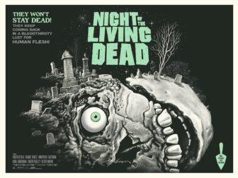 """Mondo NIght of the Living Dead green 336x252 - Exclusive Interview with Renowned Horror Artist """"Ghoulish"""" Gary Pullin"""