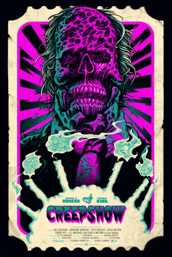 """Mondo Pullin creepshow variant virus 336x501 - Exclusive Interview with Renowned Horror Artist """"Ghoulish"""" Gary Pullin"""
