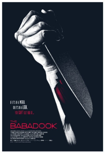 """Mono The Babadook knife dook 336x491 - Exclusive Interview with Renowned Horror Artist """"Ghoulish"""" Gary Pullin"""