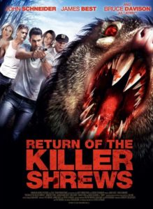 """Return of the Killer Shrews Poster 219x300 - You're in for a """"Shrewd Awakening"""" in Hysterical Music Video from RETURN OF THE KILLER SHREWS Soundtrack"""
