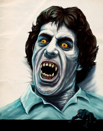 """Rue Morgue American Werewolf cover Issue 93 336x428 - Exclusive Interview with Renowned Horror Artist """"Ghoulish"""" Gary Pullin"""
