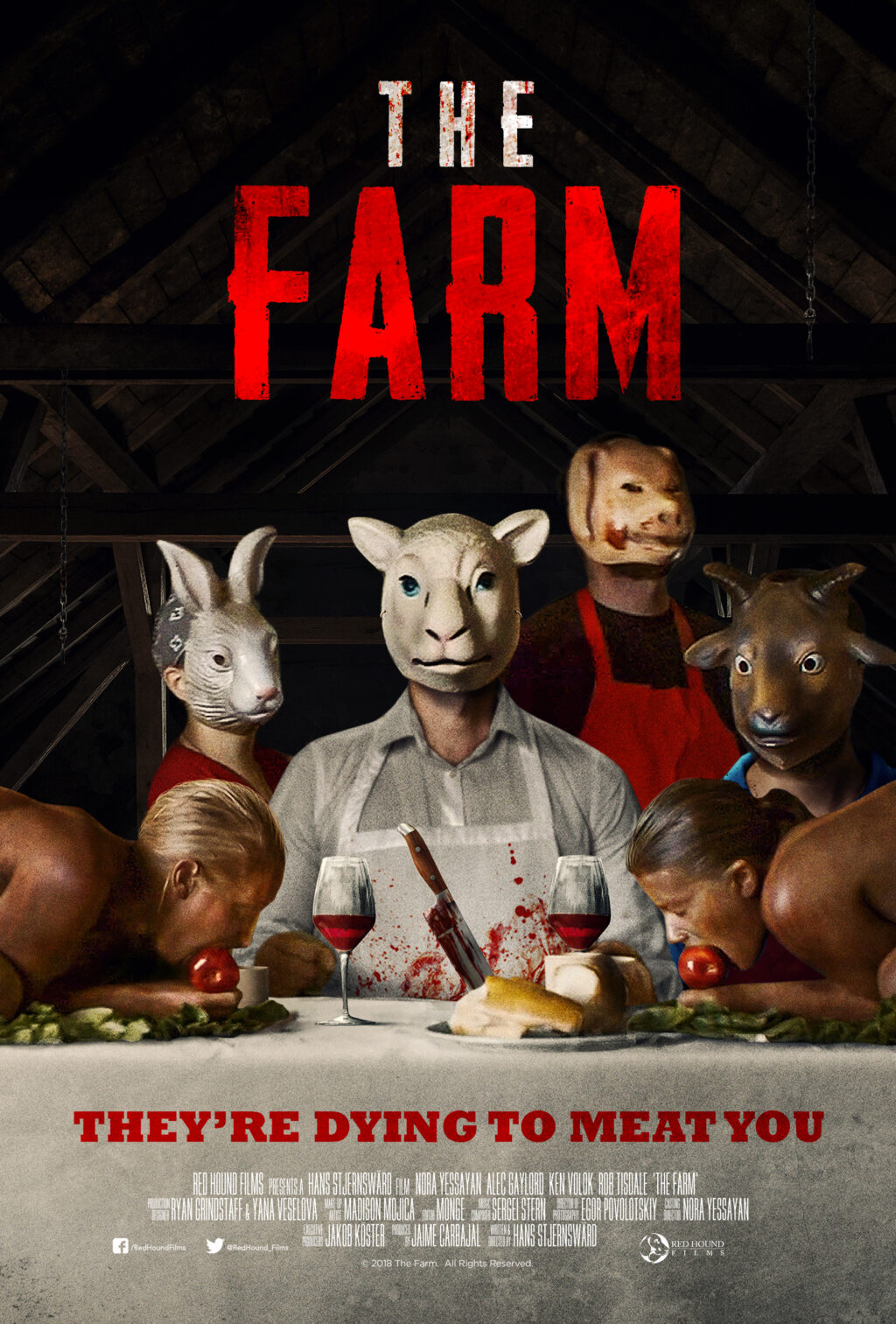 TheFarm Poster Web 1024x1513 - Exclusive Look at New Official Poster for Cannibal Horror THE FARM