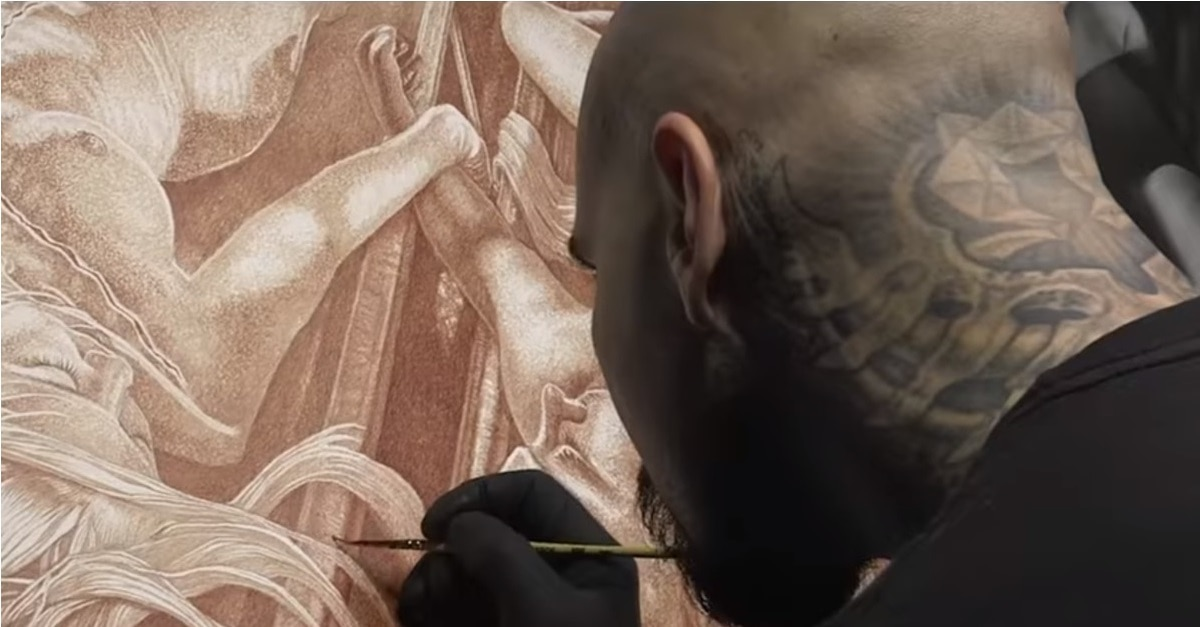 Vincent Castiglia - Trailer & Poster for Gripping Documentary BLOODLINES: THE ART AND LIFE OF VINCENT CASTIGLIA