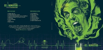 """Waxwork Records RE Animator soundtrack jacket 336x162 - Exclusive Interview with Renowned Horror Artist """"Ghoulish"""" Gary Pullin"""