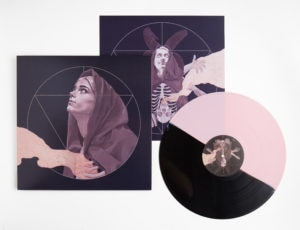 """harglowvinylpackaging 300x230 - Exclusive HARGLOW """"Red Leather"""" Track Premiere is Perfect For Synthy Witchiness"""