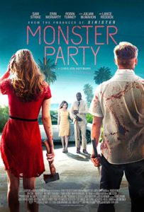monsterpartyposter 203x300 - Interview: Julian McMahon Talks MONSTER PARTY and Marvel's RUNAWAYS
