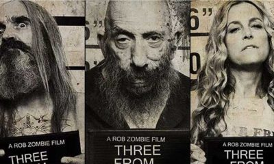 3 From Hell Mugshots  400x240 - Limited Edition THREE FROM HELL T-Shirts Now Available