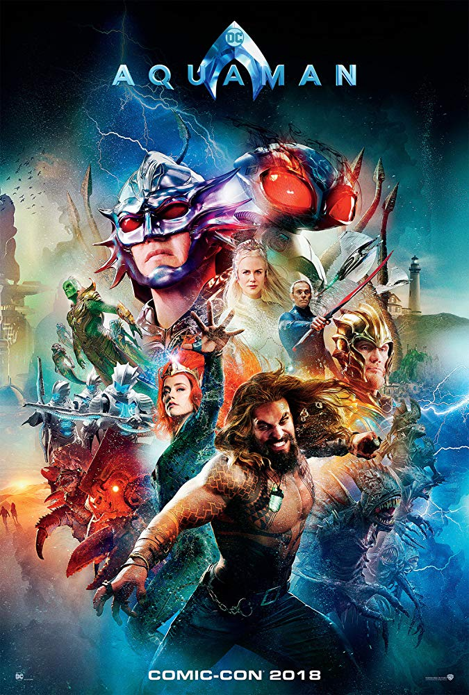 Aquaman 2018 Poster - That Time James Wan Pitched a BLADE Reboot to Marvel