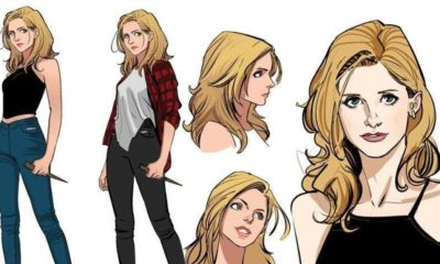 BUFFY Graphic Novel 400x240 - Check Out Character Designs for New BUFFY THE VAMPIRE SLAYER Graphic Novel Series