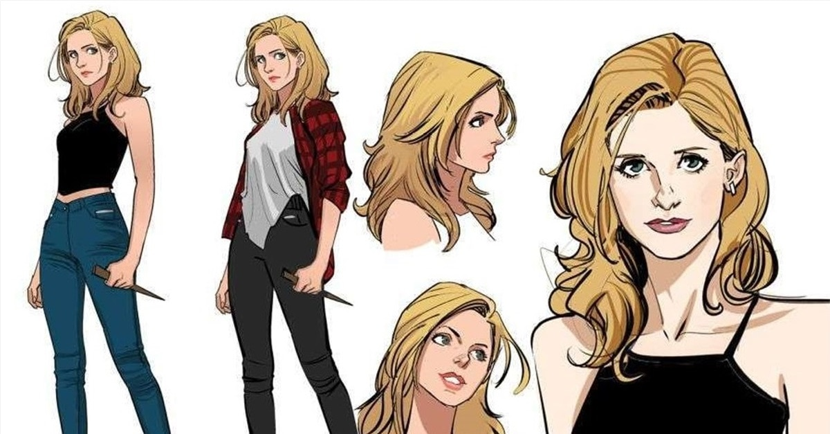 BUFFY Graphic Novel - Check Out Character Designs for New BUFFY THE VAMPIRE SLAYER Graphic Novel Series