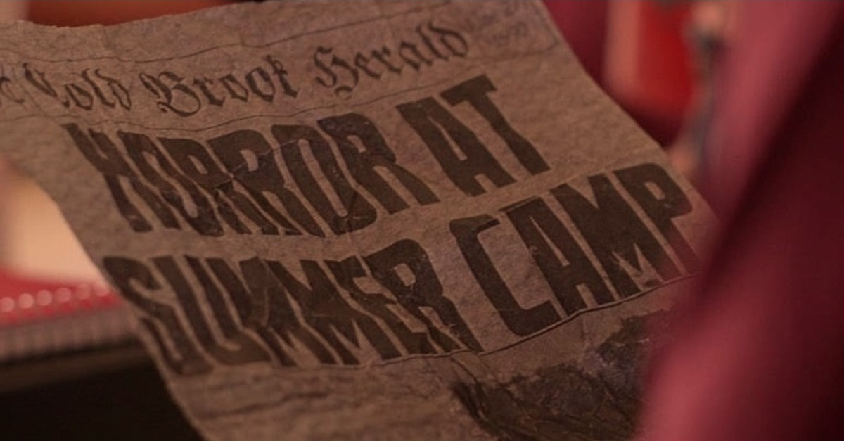 Camp Cold Blood Screenshot - Exclusive Image Gallery for Joe Dante Produced CAMP COLD BROOK at NYC Horror Film Fest