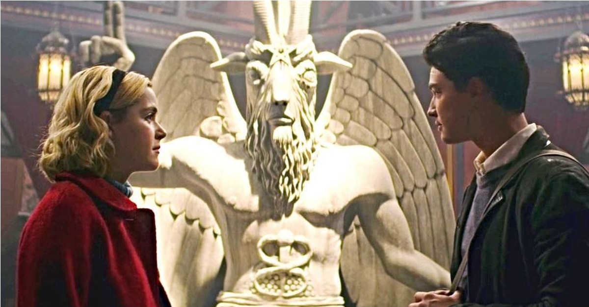 Image result for the chilling adventures of sabrina baphomet
