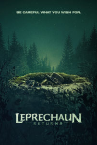LEPRECHAUN KA TEASER 1 202x300 - You're in for a Bloody Good Time When LEPRECHAUN RETURNS Hits VOD in December