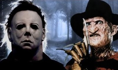 Myers and Krueger 400x240 - That Time Freddy Krueger Went to Haddonfield
