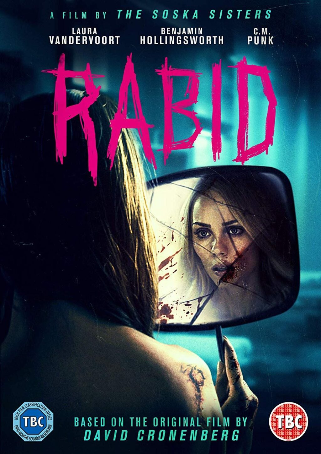 RABID blu ray 1024x1446 - Cover Art & Release Date Announced for UK Blu-ray/DVD Release of Soska Sisters RABID Remake