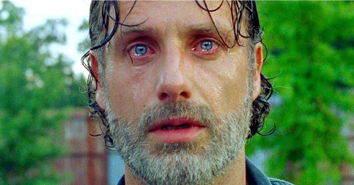 Rick Grimes - THE WALKING DEAD Cast Members Say Goodbye to Andrew Lincoln by Writing Rick Grimes' Tombstone