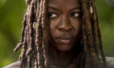TWD Michone S9 400x240 - First Maggie and Now Michonne? Say it Isn't So! Danai Gurira Reportedly Stepping Back from THE WALKING DEAD