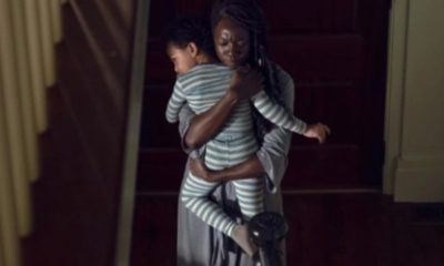 TWD Michonne and RJ 400x240 - THE WALKING DEAD Showrunner Confirms R.J. is Rick Grimes' Son but Not All Fans Are Convinced