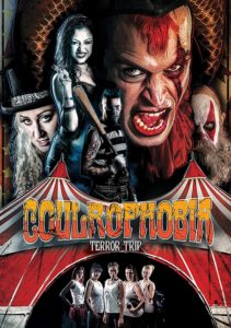 coulrophobia dvd 1 211x300 - COULROPHOBIA: TERROR TRIP Brings Killer Clown Action To DVD