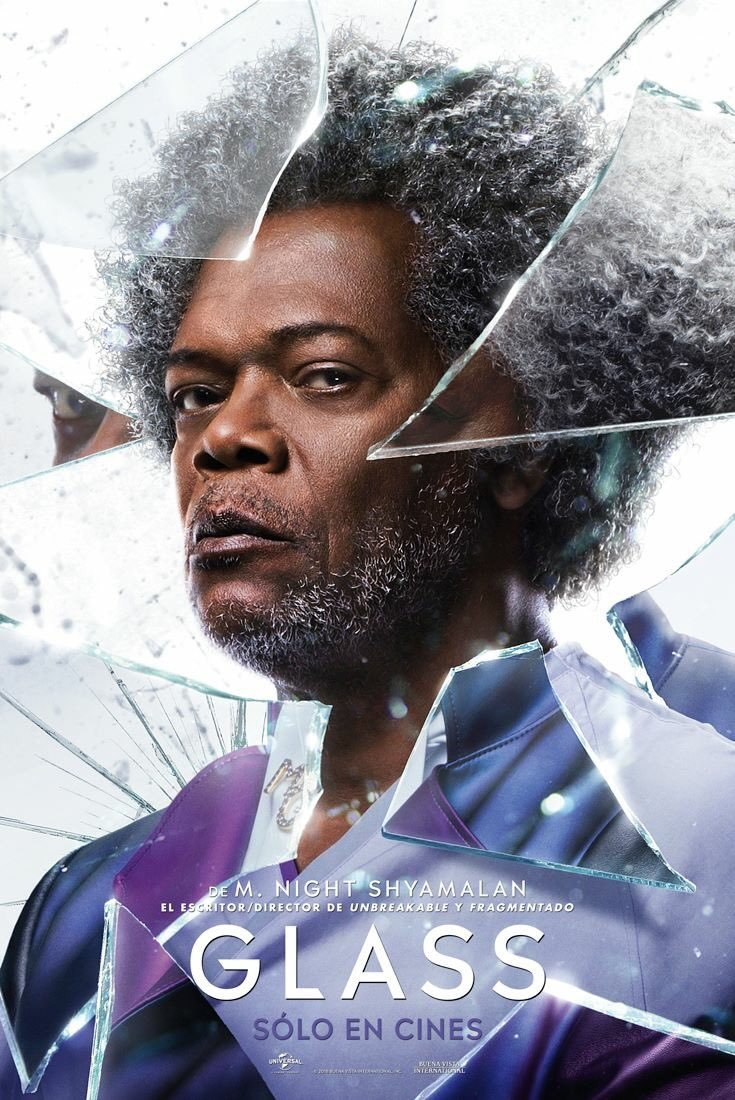glass poster 1 - New Series of International Posters Highlight Main Cast of GLASS