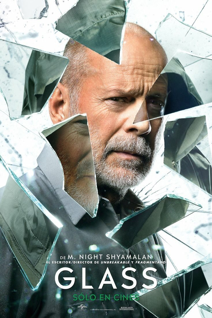 glass poster 2 - New Series of International Posters Highlight Main Cast of GLASS