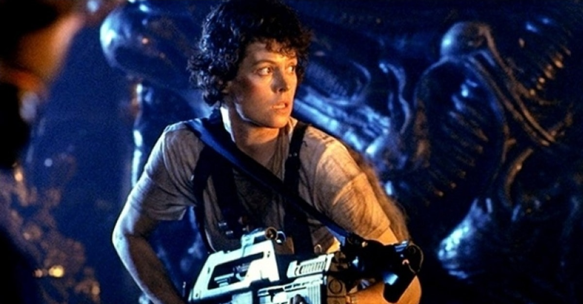 Aliens 1986 Ripley - Both Sigourney Weaver and Ridley Scott Loved That High School ALIEN Production
