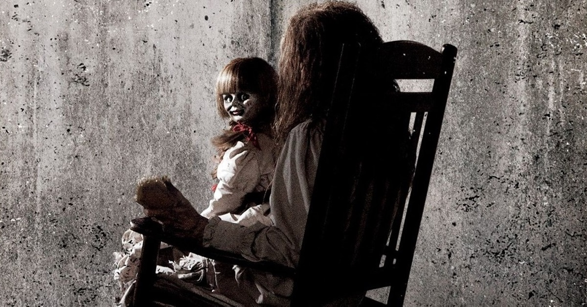 Annabelle Banner - James Wan Promises ANNABELLE 3 is More Like Past CONJURING Movies